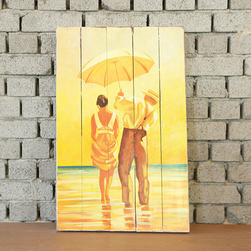 DISPLAY PAINTING UMBRELLA